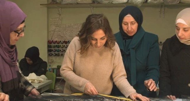 Creations by top designer, female Syrian refugees to be showcased at London Fashion Week