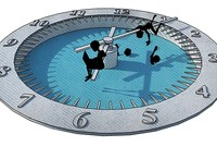 The clock as the slave master's whip