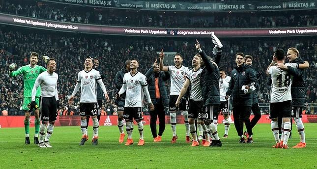 بشيكطاش التركي يكتسح غريمه التقليدي فنربهتشه بثلاثة أهداف مقابل هدف
