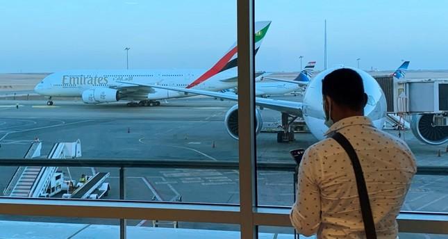 منزر عام لمطار دبي رويترز