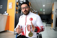 National arm wrestler Gökhan Seven unchallenged for seven years