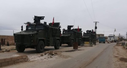 Turkey, Russia conduct first joint patrols in n. Syria