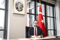 رئيس دائرة الاتصال في الرئاسة التركية، فخر الدين ألطو