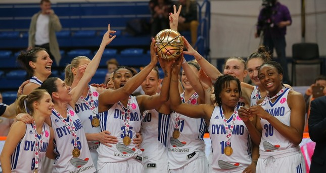 Dynamo Kursk won their first ever EuroLeague Women's title and finished the season unbeaten.