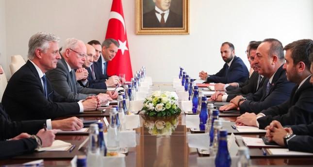 FM Çavuşoğlu meets top US Security Adviser O'Brien