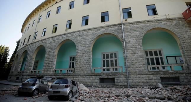 Magnitude 5.8 earthquake shakes Albania's west