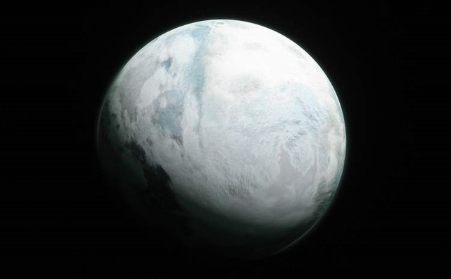 Kepler 186f by Kerem Ozan Bayraktar, 2018, Computer Generated Image.