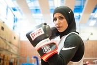 Zeina Nassar: Mit Kopftuch zur Box-Meisterschaft