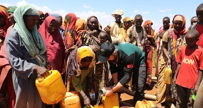 pTurkish aid is becoming the lifeline for people in Somalia, with aid organizations like the Turkish Red Crescent, the IHH Humanitarian Relief Foundation and the Turkey Diyanet Foundation (TDV)...