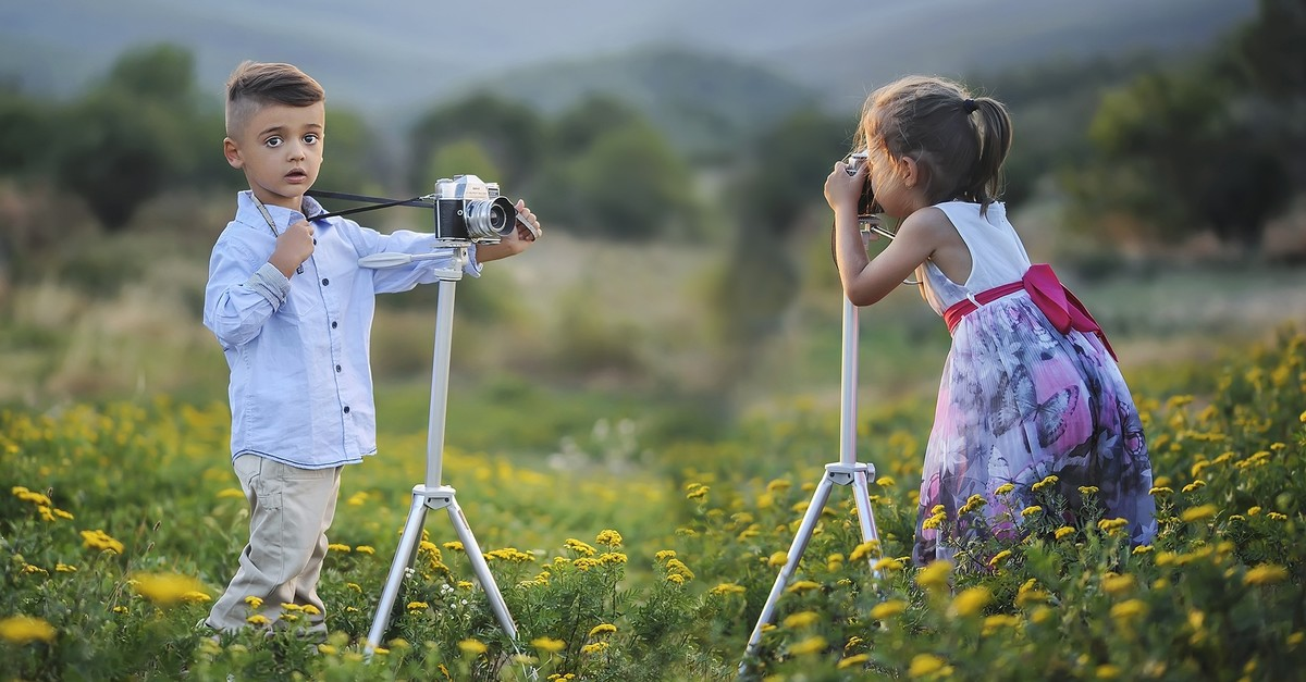 Instead of spending time on computers, children are advised to play outdoors and enjoy nature.