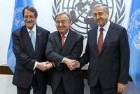 UN ends stalemate on Cyprus reunification talks, leaders commit to peace conference