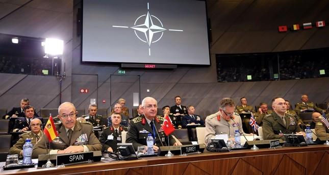اجتماع رؤساء أركان جيوش دول الناتو في بروكسل