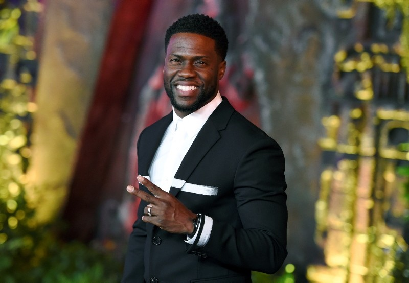 In this file photo, Kevin Hart arrives at the Los Angeles premiere of ,Jumanji: Welcome to the Jungle, in Los Angeles. (AP Photo)