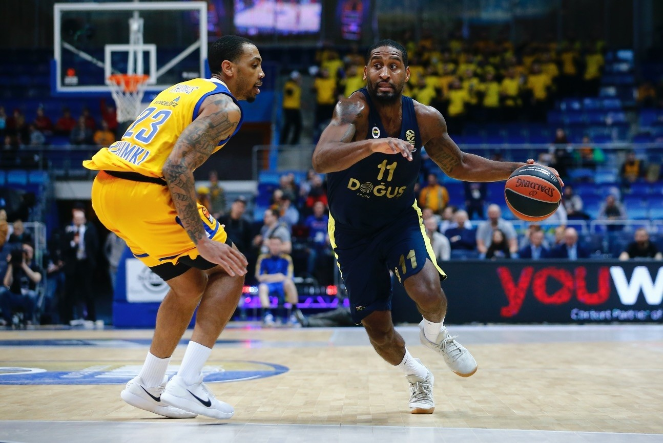 Brad Wanamaker led the Fenerbahu00e7e attack with 14 points in the match against Khimki Moscow last week.