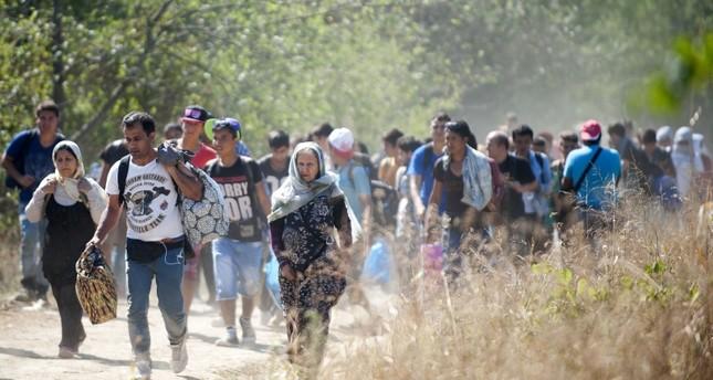 كانت ذورة موجات الهجرة عبر البلقان عام 2015 (من الأرشيف)