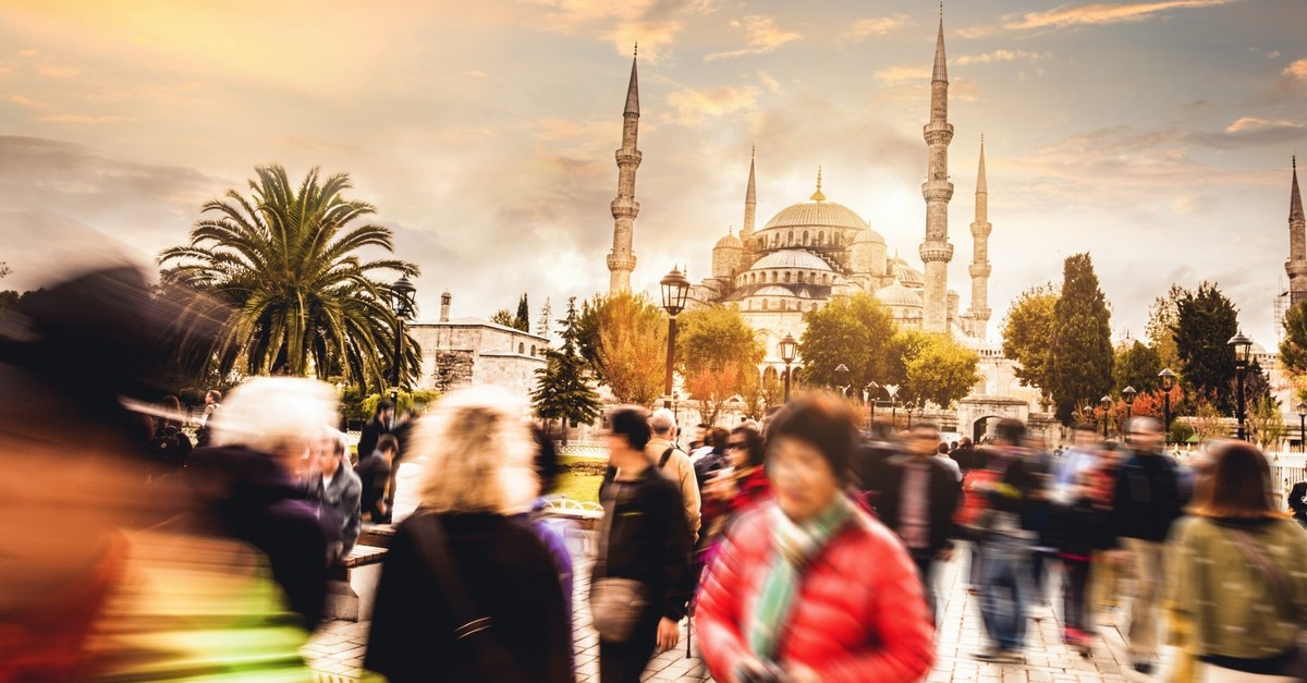 The Blue Mosque is one of the most important part of Istanbulu2019s skyline.