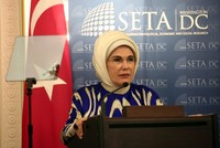 Humanitarian aids should focus on sustainability: first lady Erdoğan