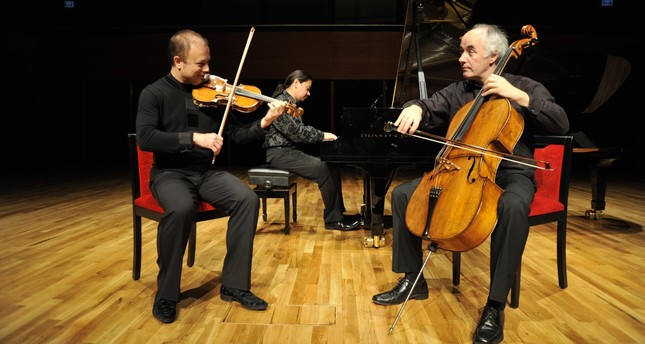 Arkas Trio brings impressive musical works to ENKA
