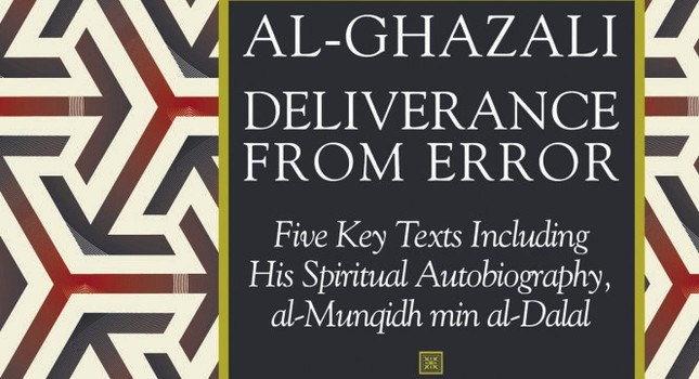 Al-Ghazali's autobiography, al-Munqidh min al-Dalal (The Deliverer from Error).