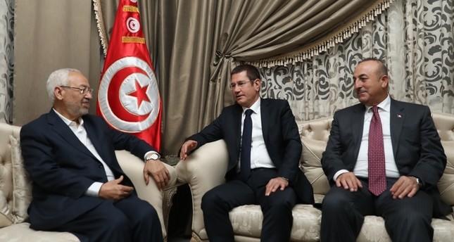 تونس: الغنوشي يلتقي وفداً تركيا رفيع المستوى