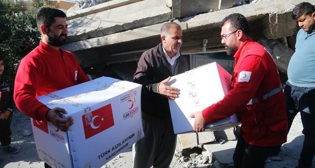 Turkey reaches out to quake-hit Iraq