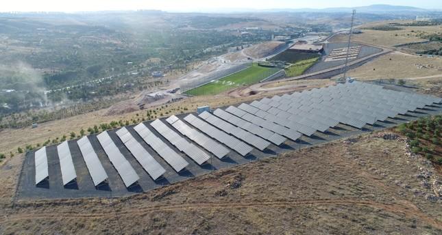 مشروع للطاقة الشمسية في غازيعتاب التركية الأناضول