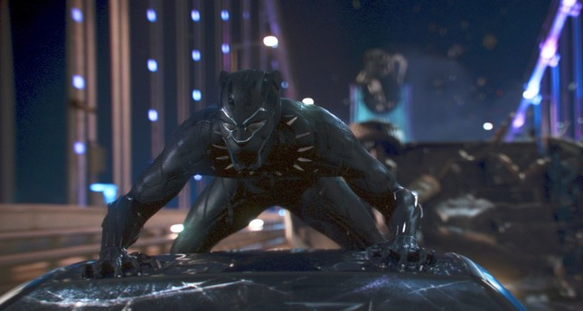 This image released by Disney shows a scene from Marvel Studios' Black Panther. (AP Photo)