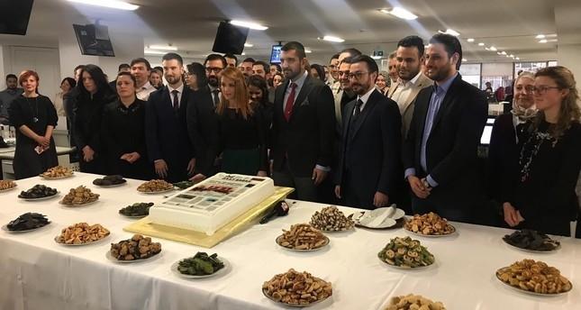 صحيفة ديلي صباح تحتفل بمرور خمس سنوات على انطلاقها