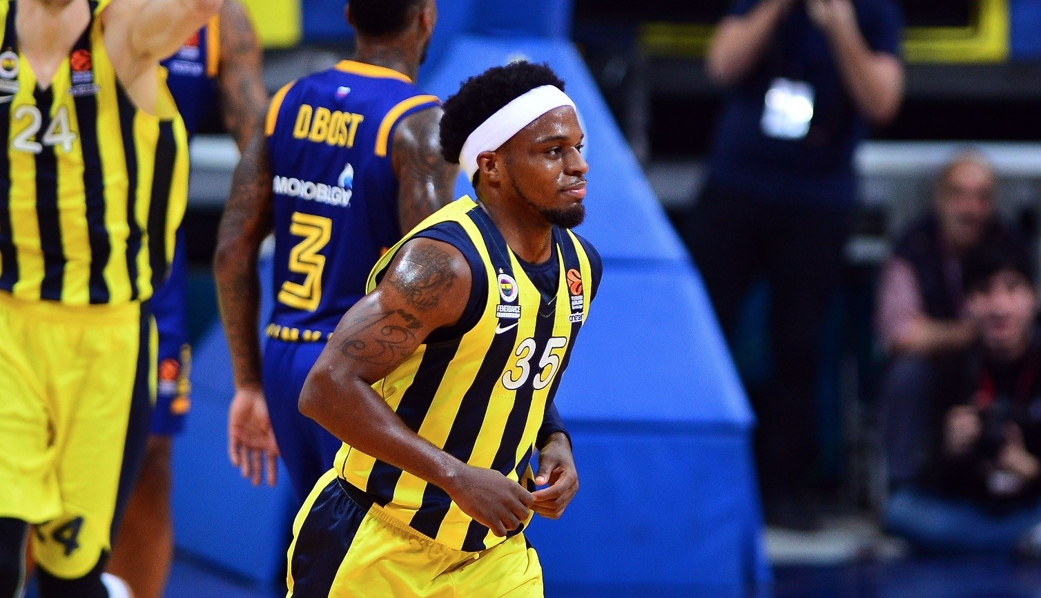 Ali Muhammed may be one of the smallest players in the Turkish Airlines Euroleague, but he is one of its most successful shooters ever.