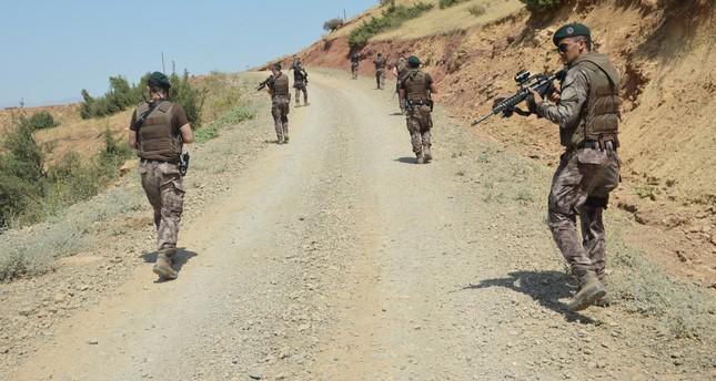 الأمن التركي يعتقل 23 من إرهابيي تنظيم بي كا كا