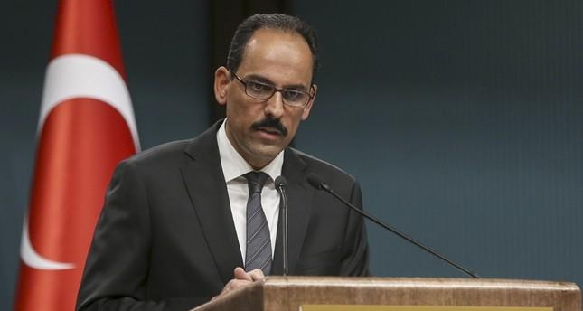 متحدث الرئاسة: تركيا لن تسمح بدويلة لـ بي كا كا الإرهابية على حدودها