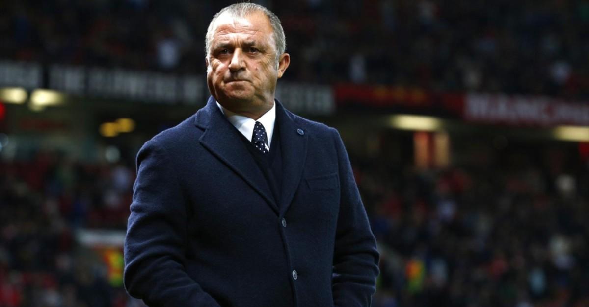Galatasaray coach Fatih Terim.