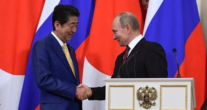 'Russia wants to sign treaty with Japan to end WWII'