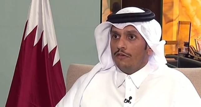 وزير الخارجية القطري (عن الإنترنت)