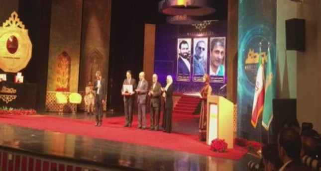 Two Turkish scientists were awarded with the prestigious Iranian science and technology Mustafa Prize this year in two categories. (IHA Photo)