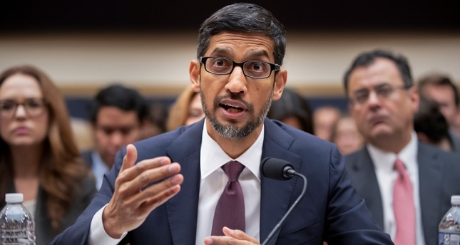 Google CEO Sundar Pichai appears before the House Judiciary Committee to be questioned about the internet giant's privacy security and data collection, on Capitol Hill in Washington, Tuesday, Dec. 11, 2018. AP Photo