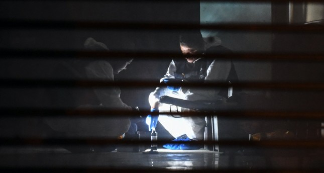 A Turkish forensic team searches for evidence at the garage of Saudi Arabia's Consul General Mohammad al-Otaibi' residence in Istanbul, Oct. 17.