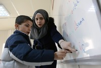 Thousands of Syrian refugees back in school through Turkey's efforts