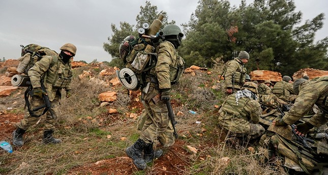 At least 260 terrorists killed in Operation Olive Branch