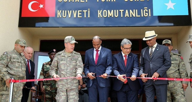 'Somalia attack targeted Turkish military base'