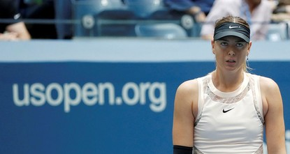 pMaria Sharapova's contentious and captivating U.S. Open run came to an end on Sunday when Latvia's Anastasija Sevastova beat her 5-7 6-4 6-2 to reach the Flushing Meadows...