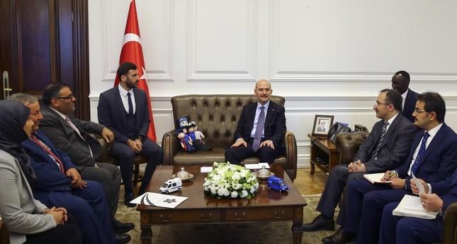 وزير الداخلية التركي يستقبل وفدا من الائتلاف السوري برئاسة أنس العبدة