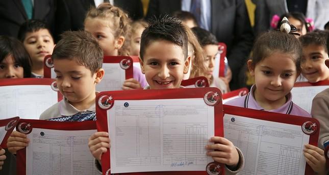 Turkish students welcome semester break