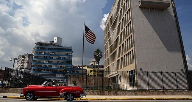 مبنى السفارة الأمريكية في هافانا، كوبا EPA