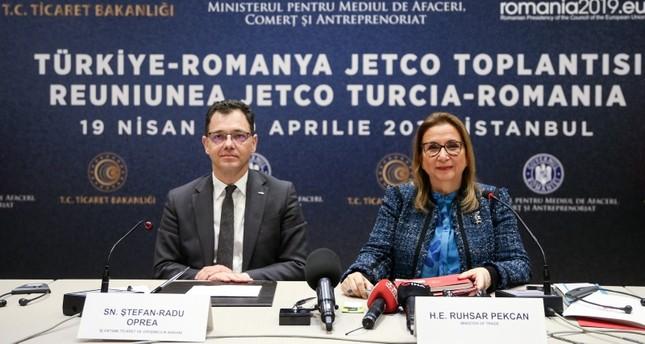 وزير التجارة التركية: نستهدف رفع حجم التبادل التجاري مع رومانيا إلى 10 مليارات دولار