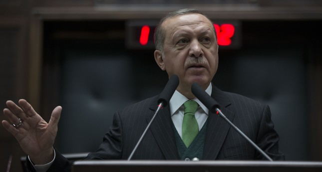 President Erdoğan yesterday called on NATO to take a stand against the fellow ally, United States,  over its plans to form a 30,000-strong SDF-led border security force in Syria.