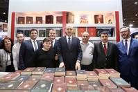 وزير الثقافة التركي نعمان كورتولموش يرعى افتتاح المعرض - الأناضول