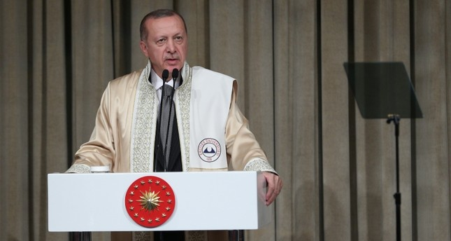 Erdoğan: Turkish universities welcome diverse views