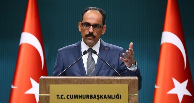 الناطق باسم الرئاسة التركية لسيناتور أمريكي: أغلق فمك، الشعب التركي أعطى قراره