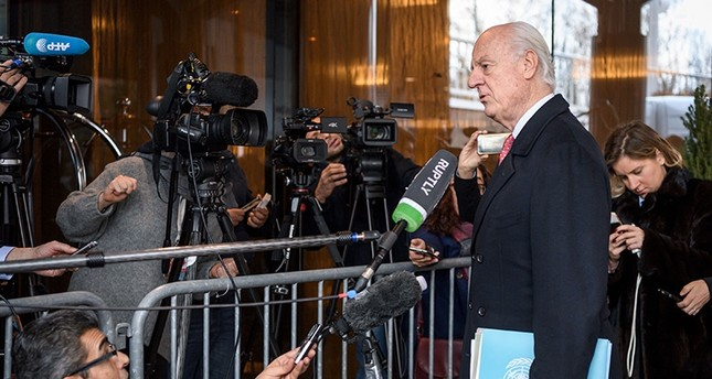 النظام السوري يقرر المشاركة في مفاوضات جنيف بعد أسبوع من استئنافها